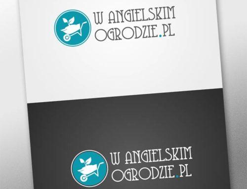 w angielskim ogrodzie Logo