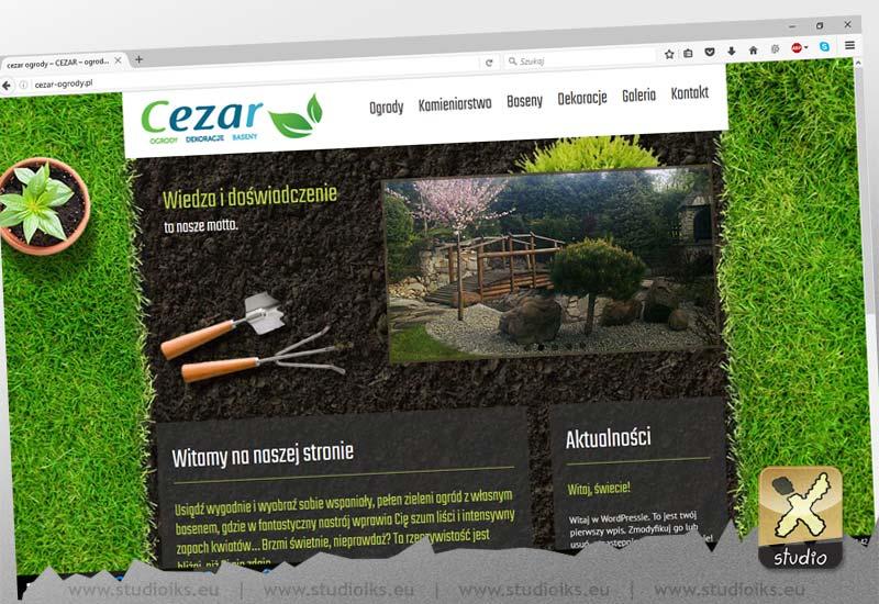 strona internetowa Ogrody